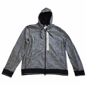 A/X Armani Exchange Heather Grey Zip Up Hoodie